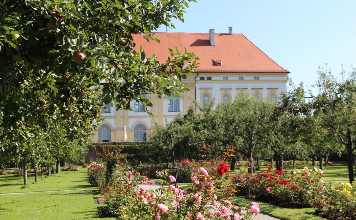 Schlossgarten in Dachau